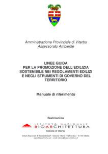 Manuale bioedilizia copertina